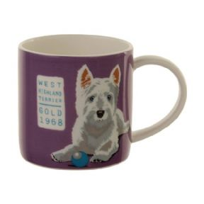 Ulster Weavers Angus West Highland Terrier Dog Bone China Mug